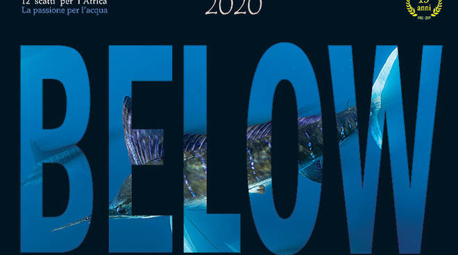 Below 2020, un calendario  sul mare per chi soffre la sete