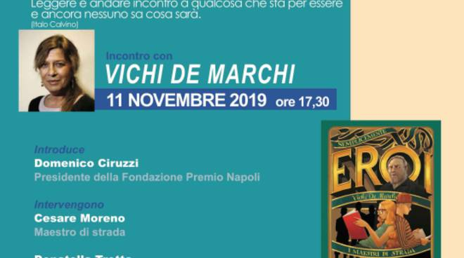 """La Fondazione Premio Napoli ospita il secondo """"Incontro ravvicinato d'autore"""" del progetto «Il mondo salvato dai ragazzini»"""