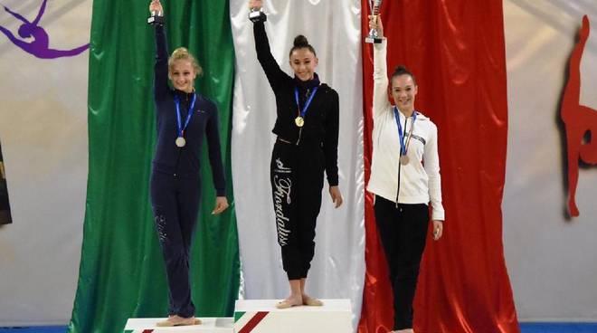 Ginnastica Ritmica, Sorrento ancora sul podio nazionale con Elena D\'Esposito, Angri in finale con Lara Russo