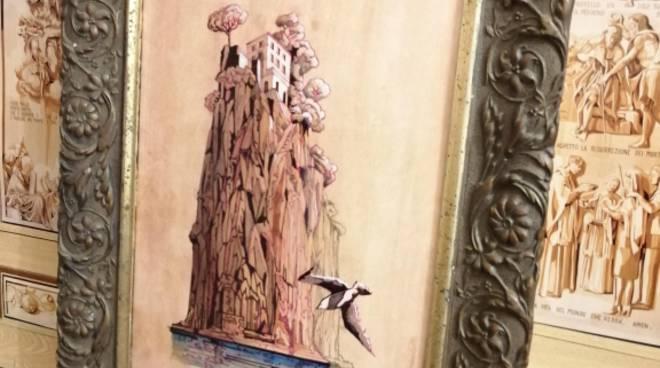 Sorrento - Presso la Chiesa di San Paolo Mostra - laboratorio della tarsia in legno