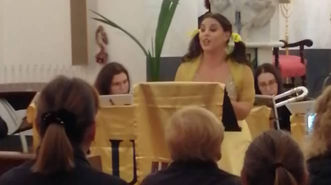 La grande operetta di Jacques Offenbach  in chiesa a Positano, che magnifico spettacolo!