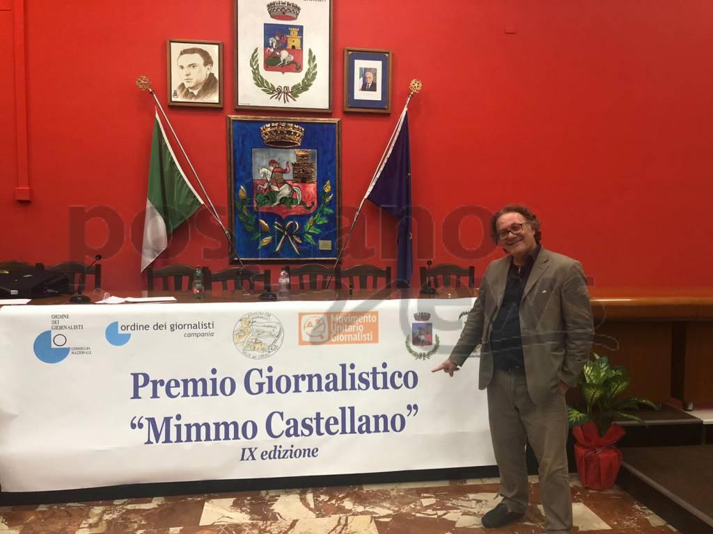 Castel San Giorgio, il Premio Castellano 2019 a Sigismondo Nastri di Amalfi
