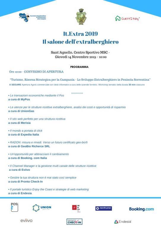 it extra 2019 sant'agnello programma