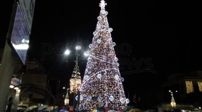 Le luci di Natale a Sorrento