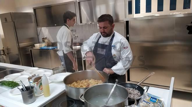 Lo chef stellato Francesco Franzese ad Agerola