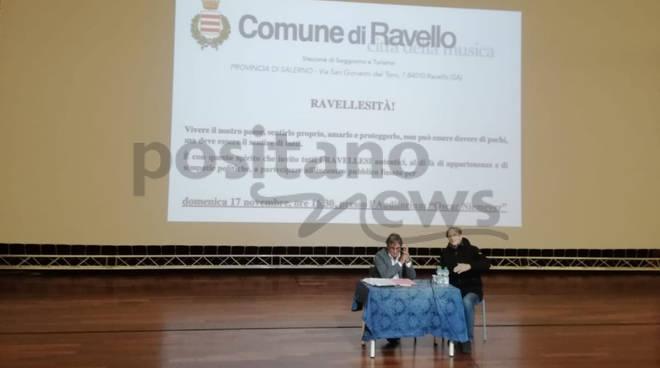 """Ravello. Oggi presso l'Auditorium """"Oscar Niemeyer"""" l'incontro pubblico con la partecipazione del sindaco Di Martino - Positanonews"""