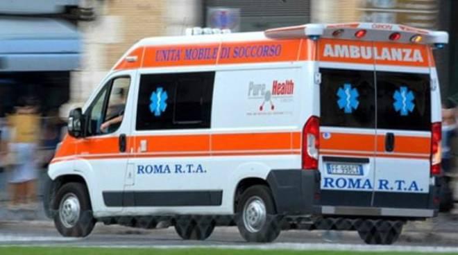 Roma ambulanza 118