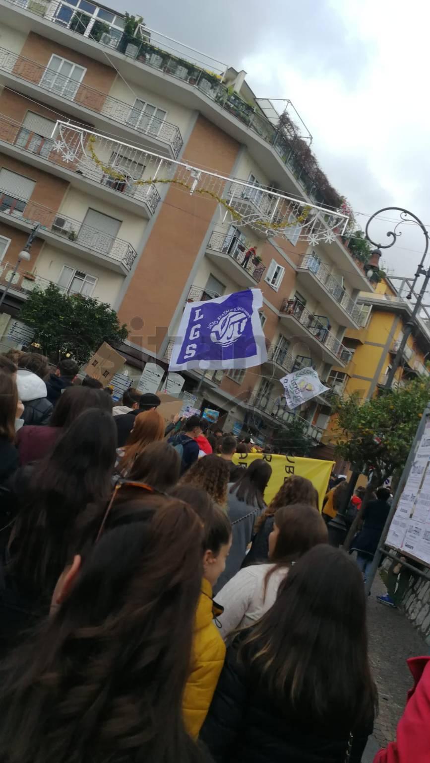 Sorrento. Studenti in piazza per Fridays For Future