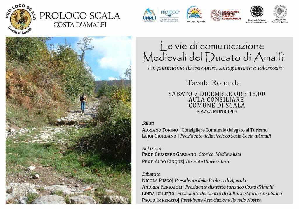 vie di comunicazioni medievali del Ducato di Amalfi