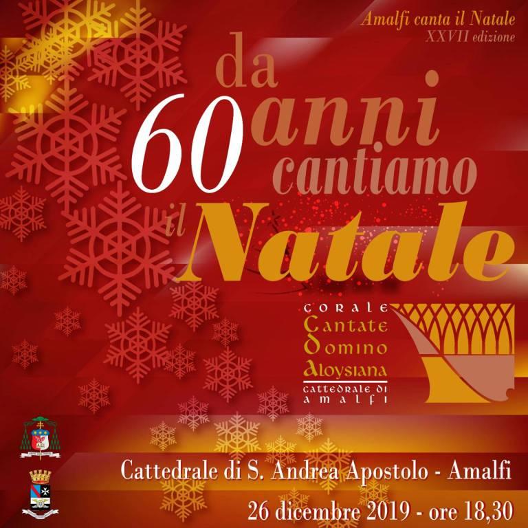 amalfi da 20 anni cantiamo il natale