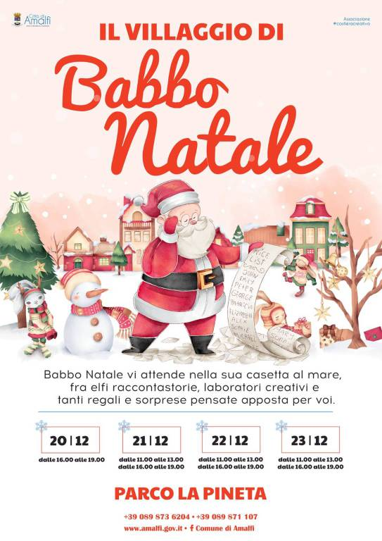 Amalfi. Il Villaggio di Babbo Natale