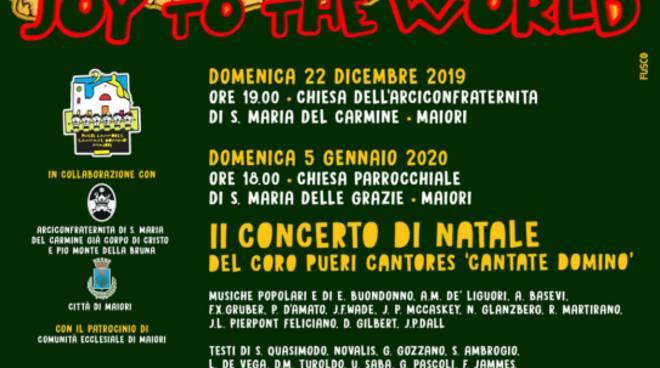 """Maiori - II Concerto di Natale dei Pueri Cantores \""""Cantate Domino\"""": Joy the world!"""