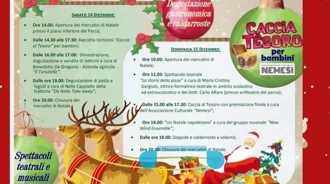 Il 14 e 15 dicembre Mercatini di Natale e Spettacoli con Oltre i sogni al Parco Ibsen.