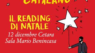 GUIDO CATALANO nel READING DI NATALE