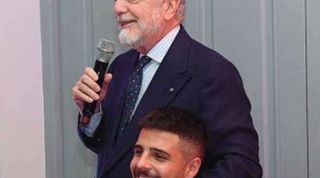 De Laurentiis carica il Napoli: