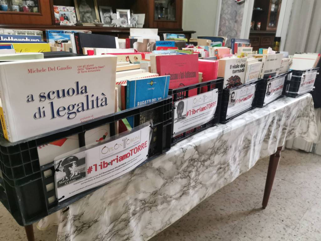 """LIBeRIAMO TORRE ANNUNZIATA"" parte l'iniziativa dell'Associazione OPLONTORUM, presieduta da Salvatore Sparavigna."
