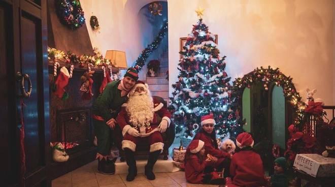 Meta. Grande successo del Borgo di Babbo Natale
