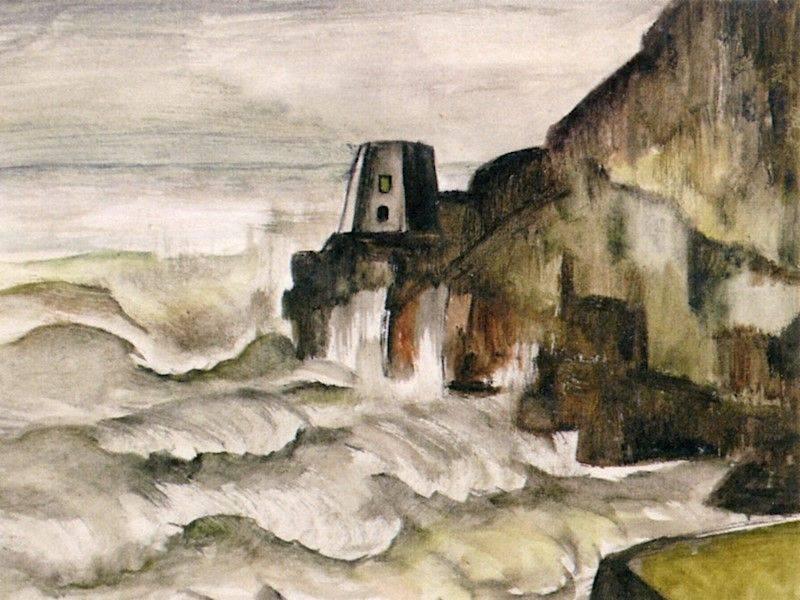 """Positano """"Dove le onde e le montagne si incontrano"""", di Matilde Romito"""