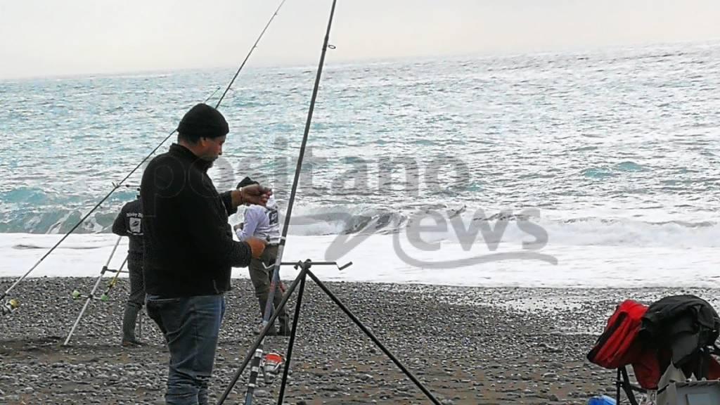 Positano. Le foto in Spiaggia Grande in diretta dall'XI torneo di pesca dedicato ad Enzo D'Urso