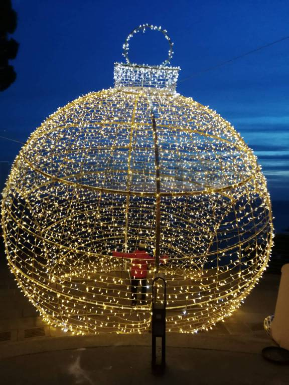 Positano si illumina per il Natale