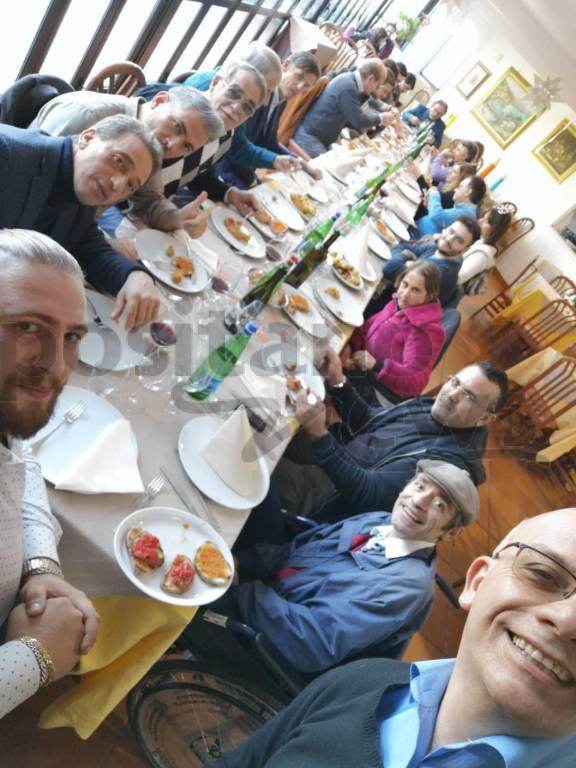 Pranzo di Positanonews al ristorante Zio Sam