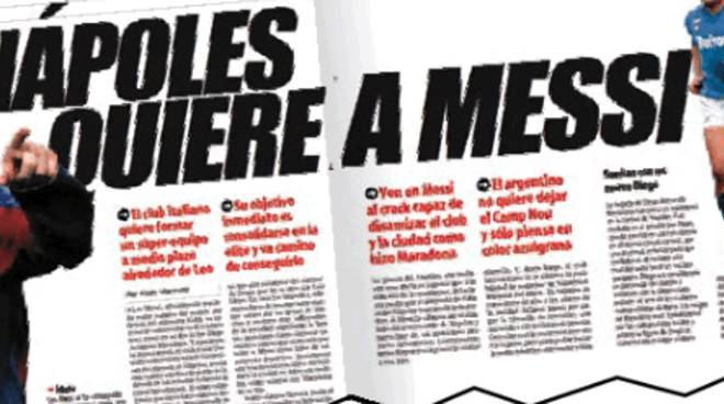 Quando Napoli sognava Messi