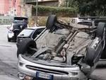 ribaltata auto