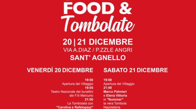 Sant'Agnello street food