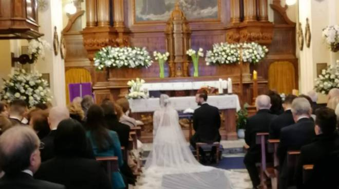 sposi alberto ed elisa sant'agnello