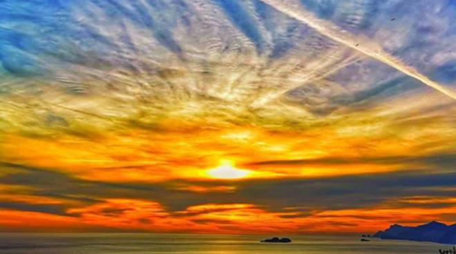 positano tramonto