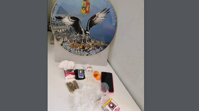Arresto per droga