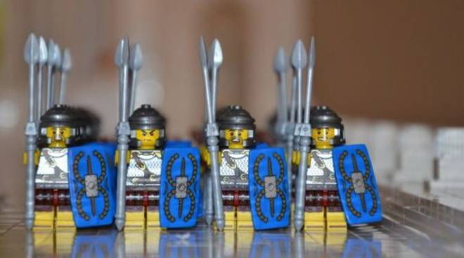 """A Roma \""""I Love Lego\"""""""