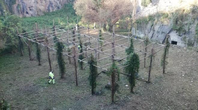 Piano di Sorrento, il Vallone San Giuseppe ripulito e bonificato.