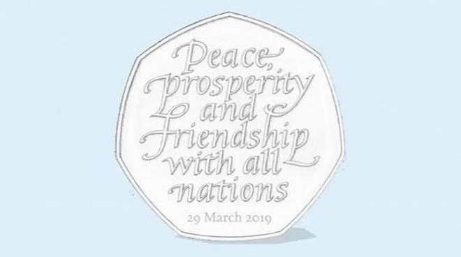 Venerdì sarà messa in circolazione una moneta per celebrare la Brexit