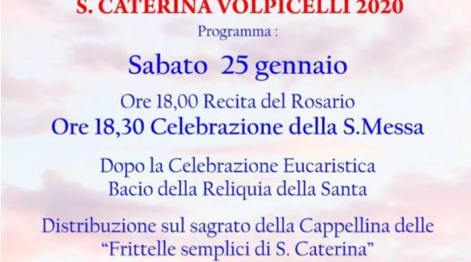 Festività di S. Caterina Volpicelli 2020