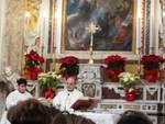 Messa a Positano col Vescovo Michele Fusco