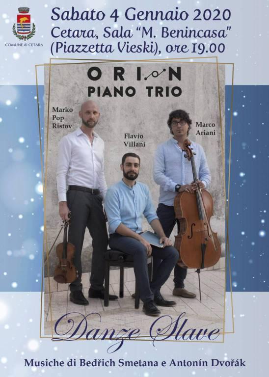 orion piano trio cetara