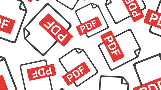pdf foto redazionale
