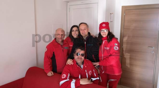 Positano il 118 con i volontari della Croce Rossa