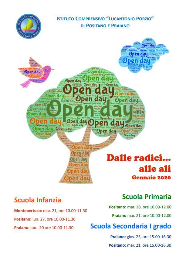 """Positano. Open Day """"Dalle radici... alle ali"""" dell'Istituto Comprensivo """"L. Porzio"""""""