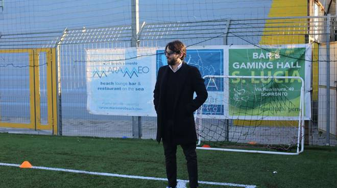 Sorrento Calcio. Il ds Antonio Amodio