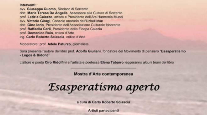 """Sorrento: presentazione del libro """" A Jonta"""" di Adolfo Giuliano"""