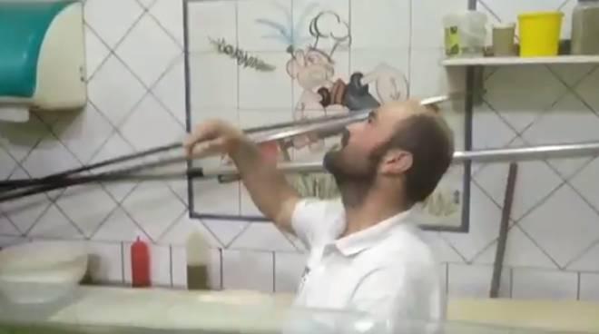 braccio di ferro pizzeria