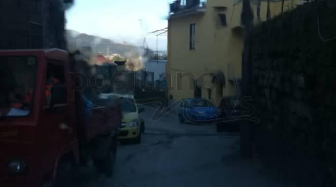 auto bloccate via cermenna e via gradoni