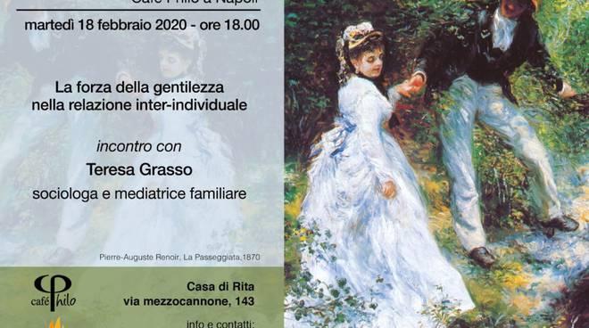 Cafè Philo - Incontro con Teresa Grasso