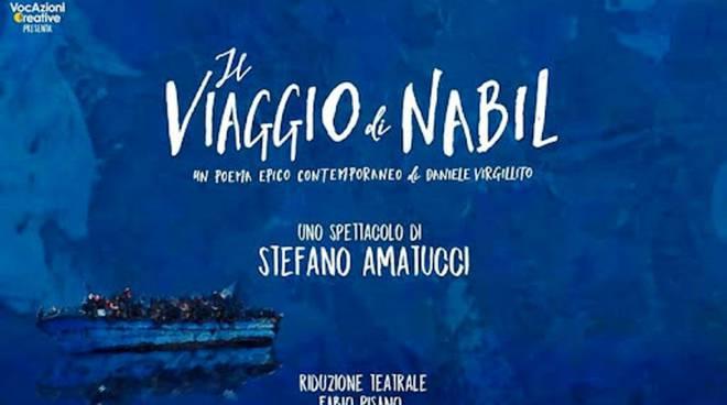 Lo spettacolo Il viaggio di Nabil a Sorrento per gli studenti
