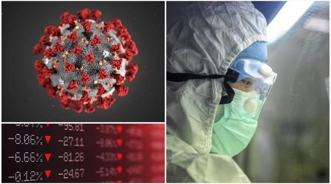 coronavirus italia - piazza affari in calo