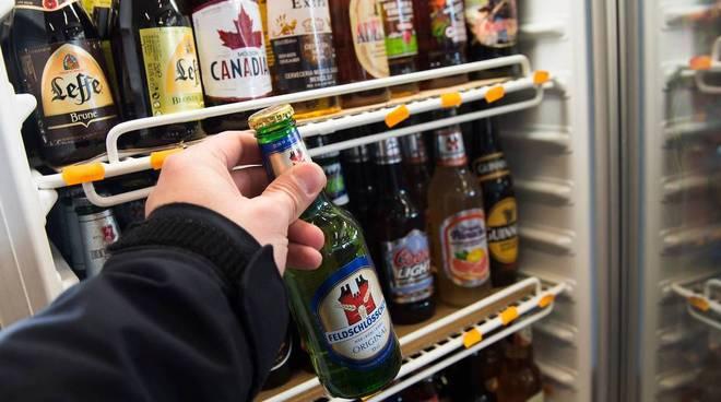 Distributore alcolici
