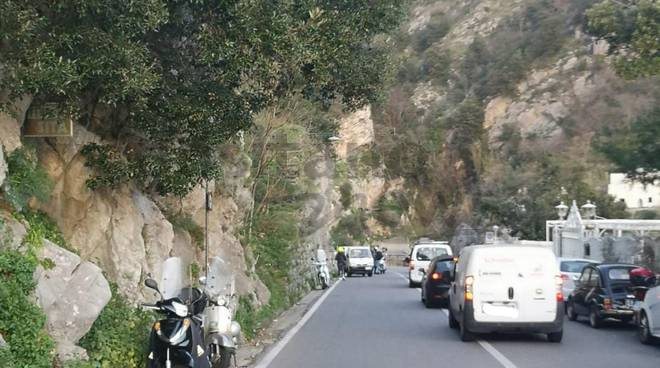 incidente positano