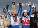 le donne vincono nello sci